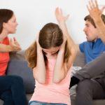 La agresión en la familia